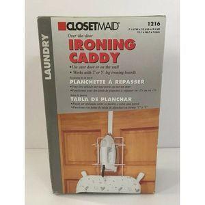 New ClosetMaid 1216 Over-The-Door Ironing Caddy
